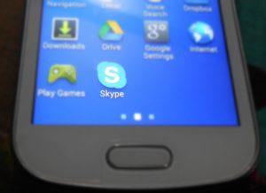 Skype in phone