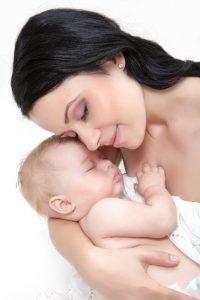 אימא ותינוק